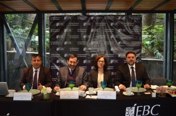 La EBC presenta Lic. en Derecho