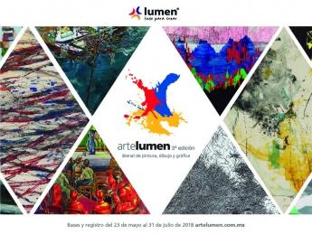 Arte Lumen, el mayor premio para artistas plásticos en México, convocatoria abierta hasta 31 de julio, 2018