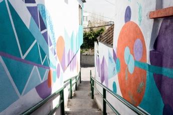 Ha quedado colosalmente plasmado: mural 'Ave de los Sueños' en el Cerro de la Campana