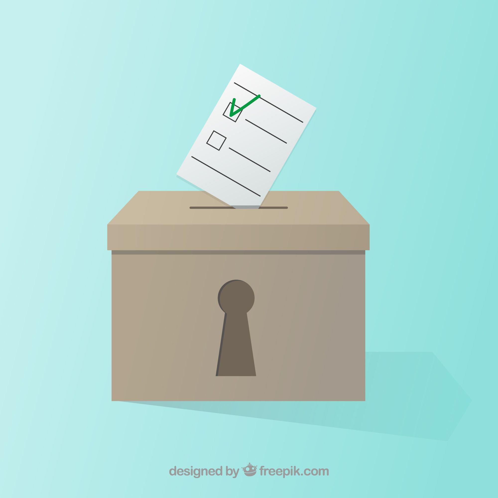 Foto de Seguridad cibernética y sistema de votación electrónico