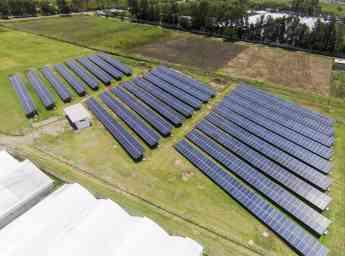 Planta Fotovoltaica, primer generador excento del Sistema Eléctrico Nacional