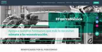 Foto de Portal del Fideicomiso Fuerza México