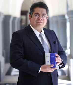 Foto de Miguel Ángel Liceaga, representante legal de Nerium SkinCare