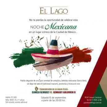 Noche Mexicana El Lago Restaurante