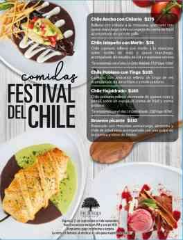 Comidas Festival de Chiles