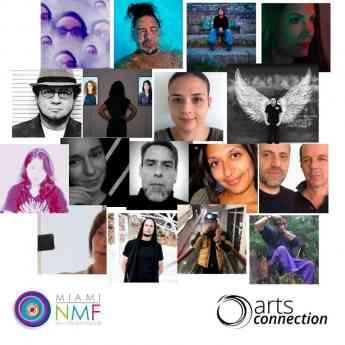 Foto de Artistas seleccionados del Miami New Media Festival 2018