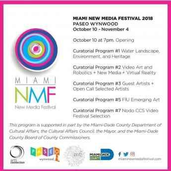 Foto de MNMF 2018 program