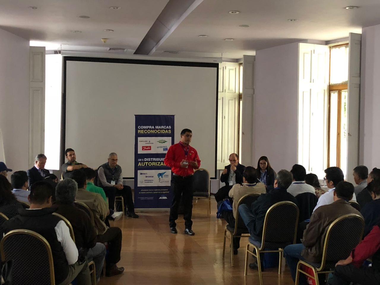 Foto de Danfoss participa en Seminario de gases refrigerantes