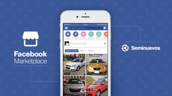 Seminuevos.com integra su inventario con el Marketplace de Facebook