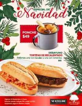 Nube 7 presenta su menú navideño