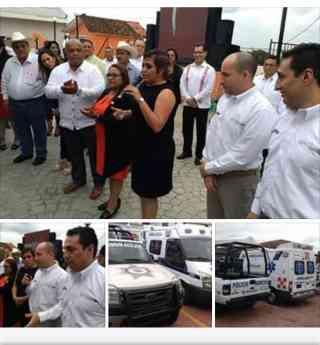 Petrolera Lifting de México realiza donación y anuncia la construcción del puente, Nanchital – Las Choapas