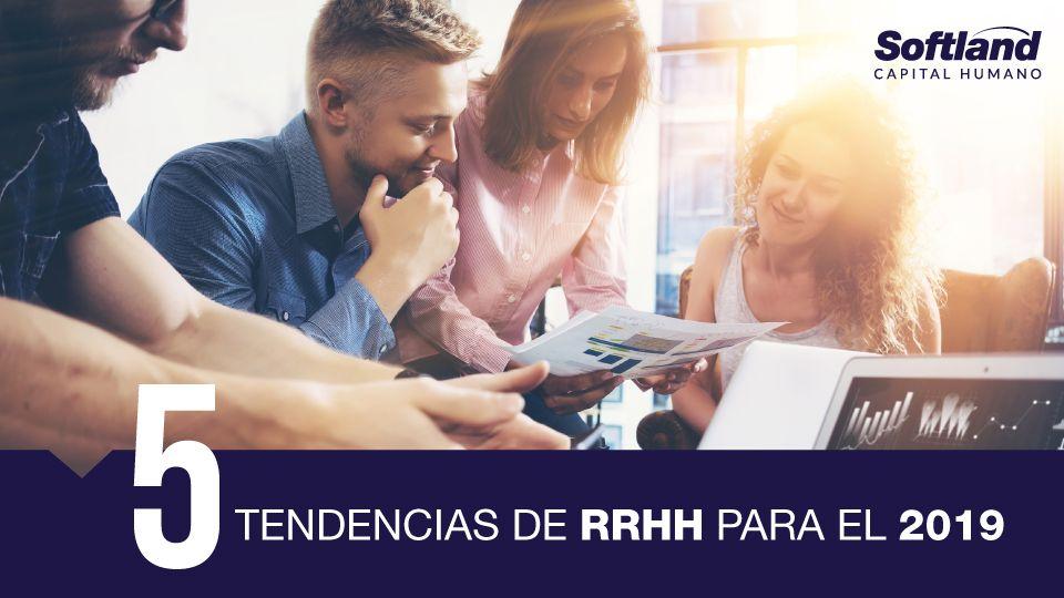 Foto de 5 Tendecias de RRHH para el 2019.