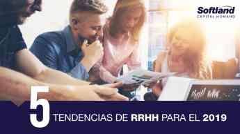 5 Tendencias de RRHH para el 2019