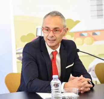Conferencia de Ricardo Rivero, rector de la Universidad de Salamanca, sobre la Educación Superior en España