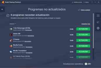 Avast Cleanup Premium ahora actualiza automáticamente 30 de las aplicaciones de PC