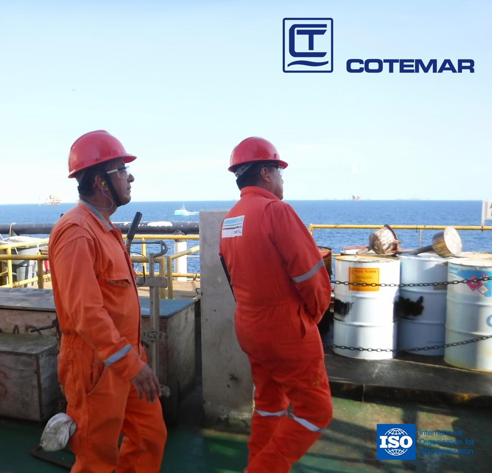 Foto de Cotemar Certificaciones ISO