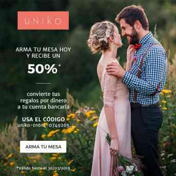 Uniko recibe el premio a la mejor Mesa de Regalos de boda en México