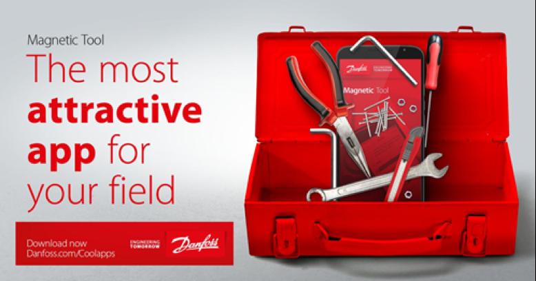 Danfoss da a conocer Magnetic Tool la App más atractiva en cooling