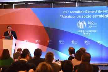 Foto de Jorge L. Torres, Presidente de American Chamber/Mexico