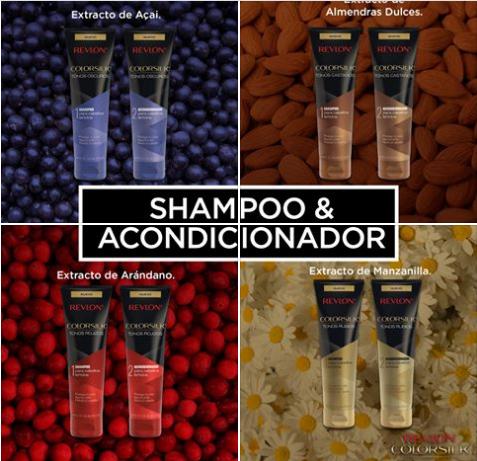 Foto de Shampoo y Acondicionador  Revlon Color Silk