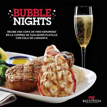 Bubble Nights en Red Lobster