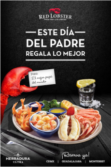 Red Lobster celebra el día del padre