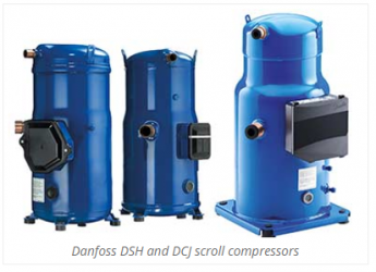 Los scrolls DSH multirefrigerantes dan a los OEM la máxima flexibilidad en GWP bajos