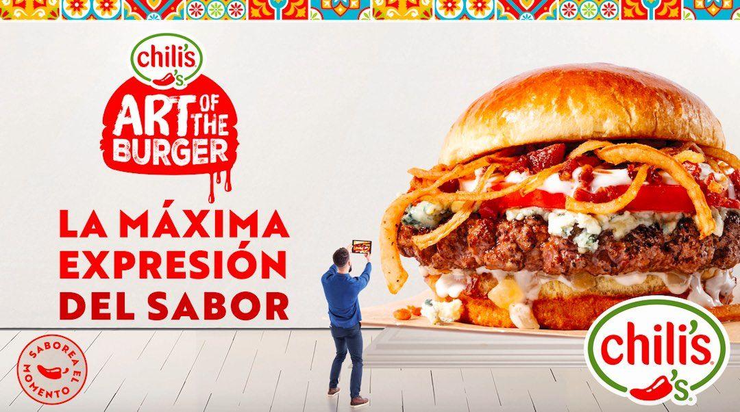 Llega a Chili?s de nuevo el delicioso Art of Burger