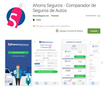 App AhorraSeguros