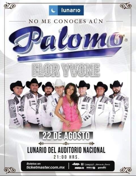 Foto de Flor Yvone y Grupo Palomo