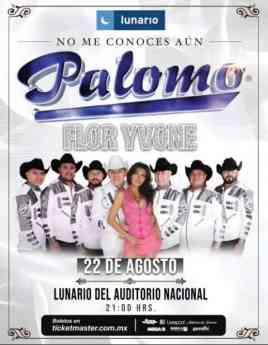 Flor Yvone y Grupo Palomo