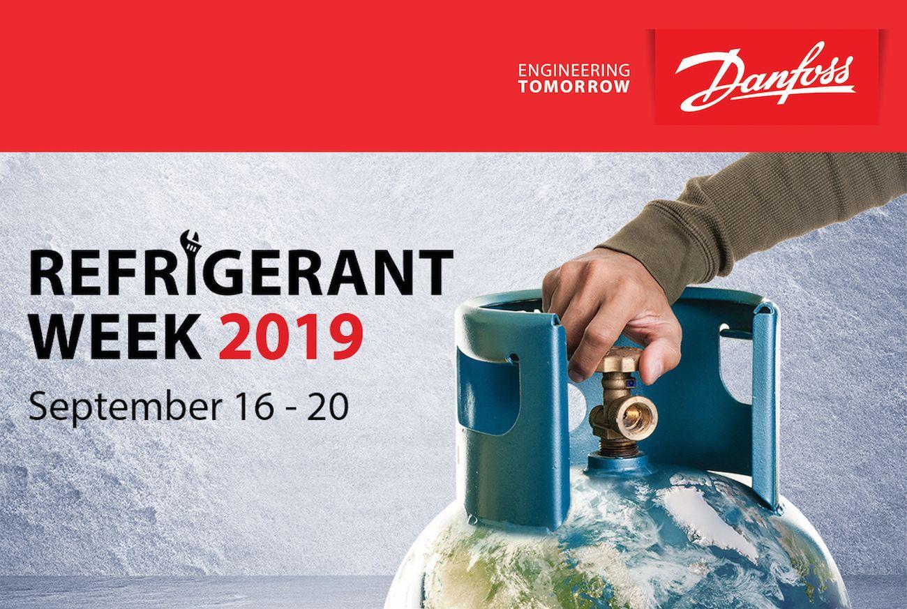 Foto de Danfoss anuncia la 3ra edición de Refrigerant Week