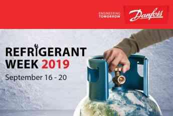 Danfoss anuncia la 3ra edición de Refrigerant Week