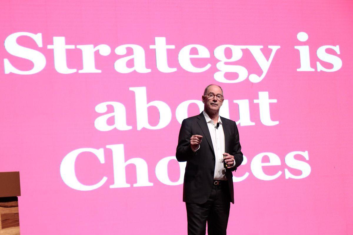 Fotografia Roger Martin, experto en estrategia de negocios