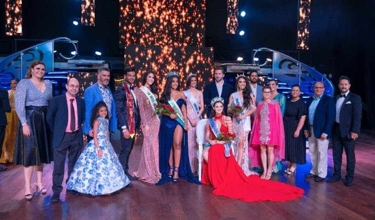 Foto de  Miss Mundo Dominicana 2019 en Barceló Bávaro Grand Resort