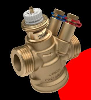 Danfoss AB-QM 4.0, válvula de control y equilibrio independiente de la presión