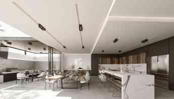 Foto de Fotografía de cocina - comedor de residencia de lujo