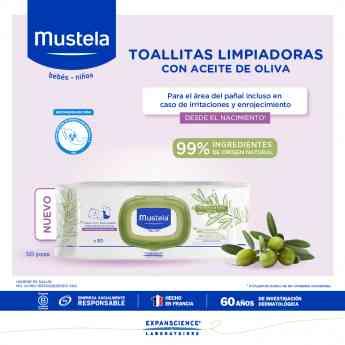 Toallitas Limpiadoras con Aceite de Oliva