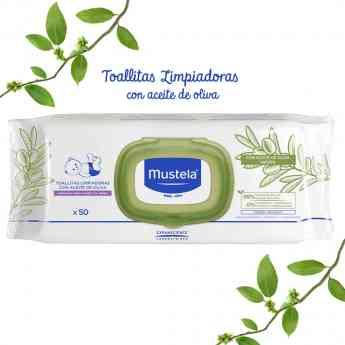 Foto de Toallitas Limpiadoras con Aceite de Oliva