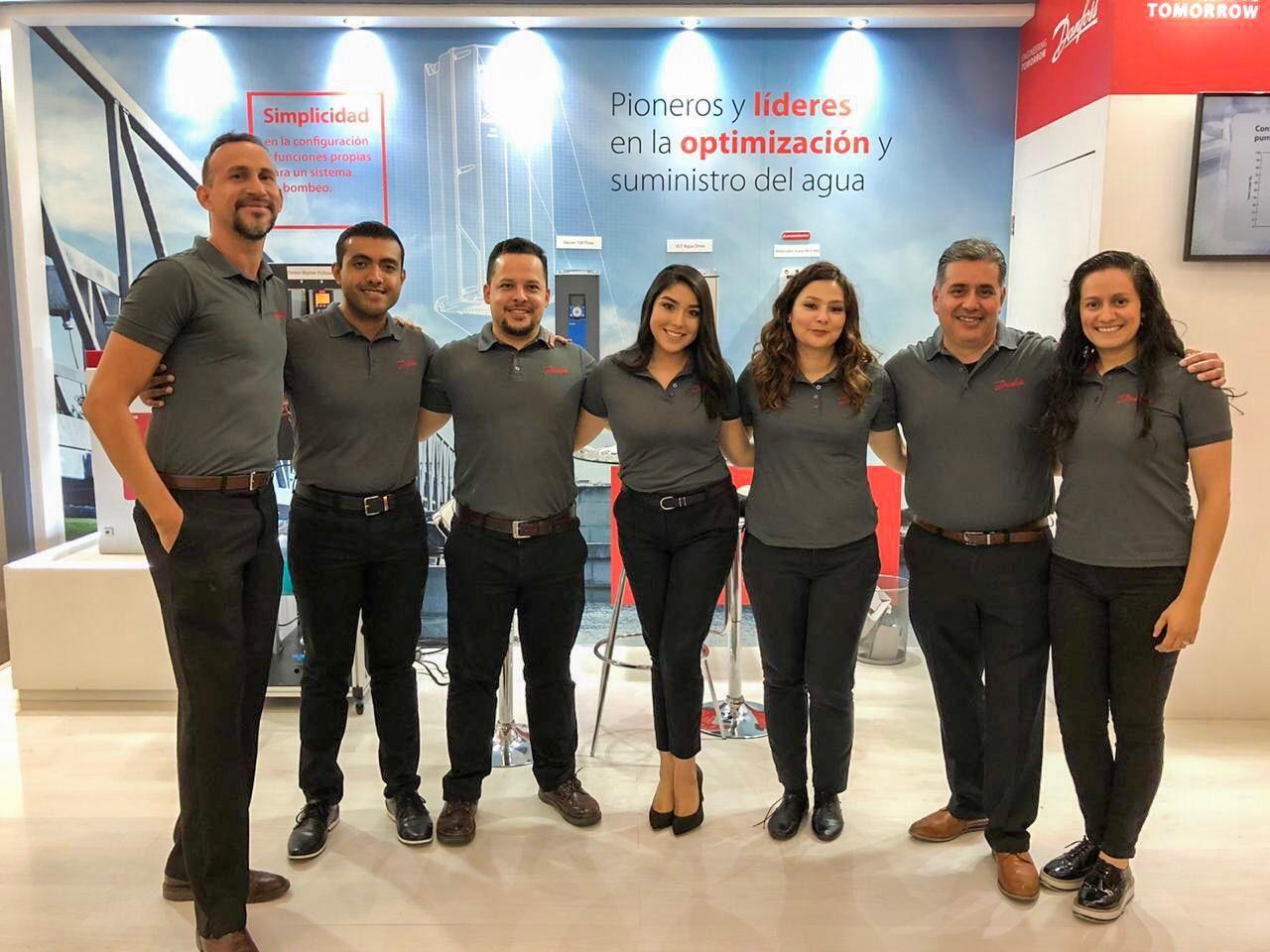 Foto de Presentó Danfoss variadores de velocidad en Aneas 2019