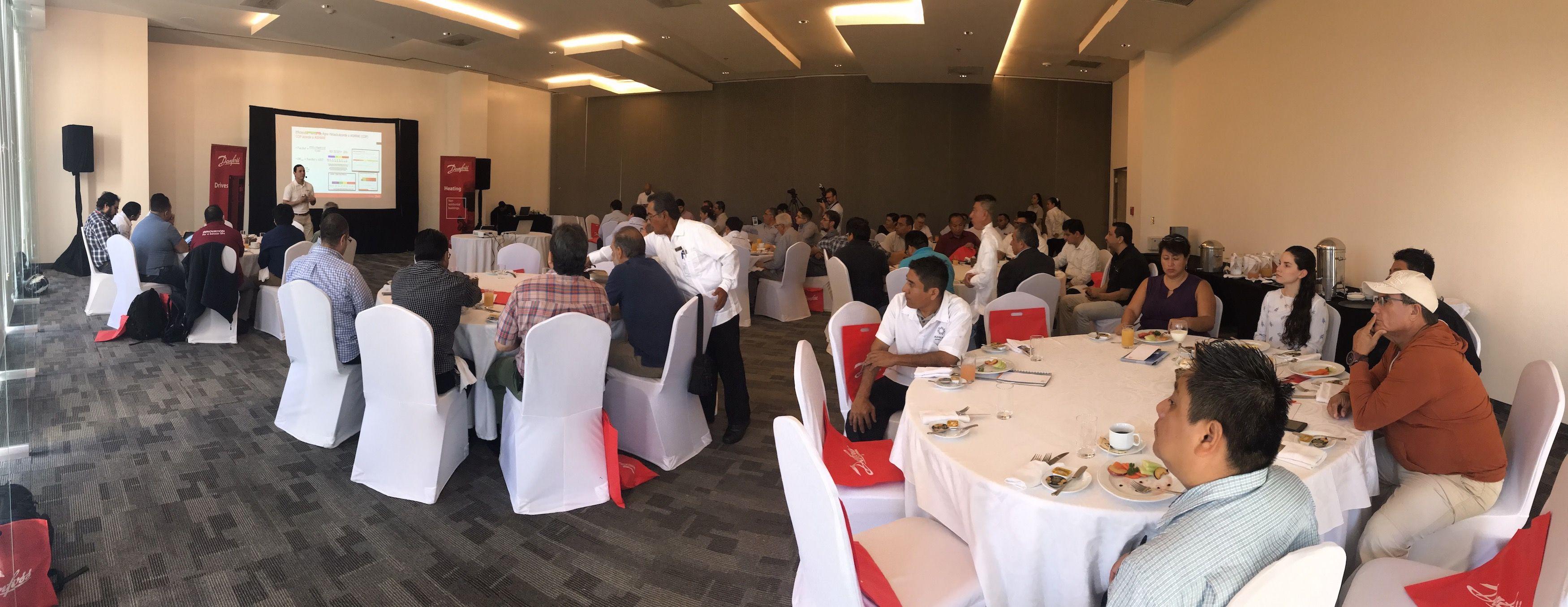 Foto de Realiza Danfoss seminario de eficiencia energética en