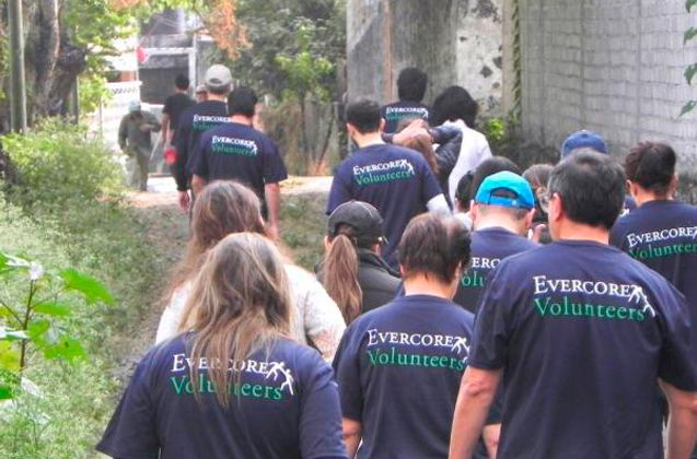 Fotografia Evercore Volunteers