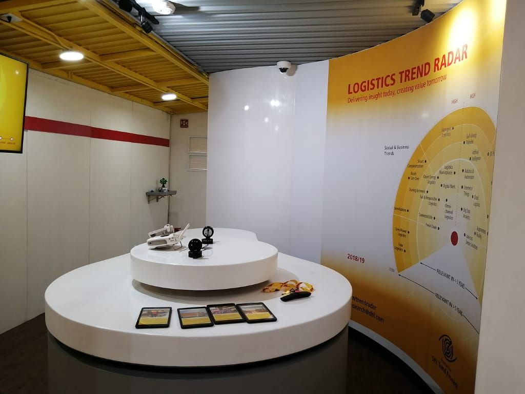 Fotografia Innovation Corner DHL