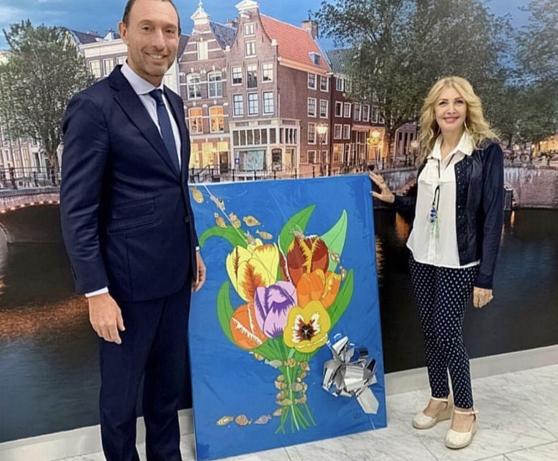 Fotografia Dirk Janssen ex embajador Países Bajos en Panamá y