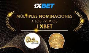 1xBet es nominada para múltiples galardones