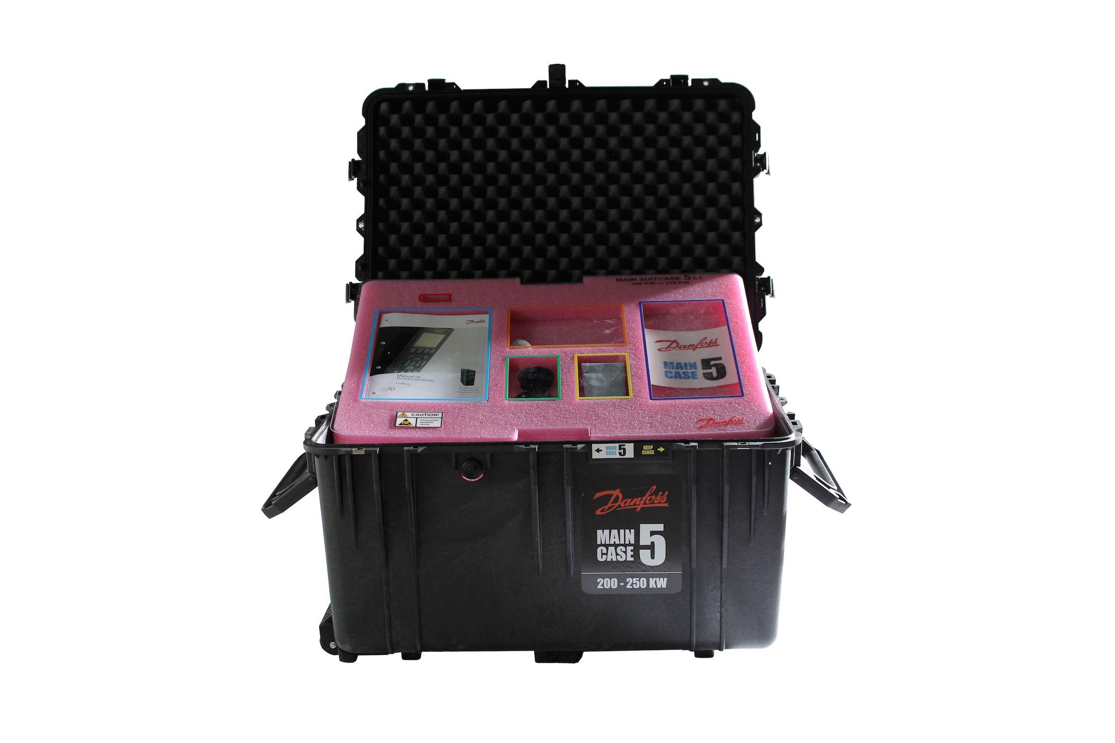 Foto de Personaliza Danfoss Spare Parts Suitcases para Minera Panamá