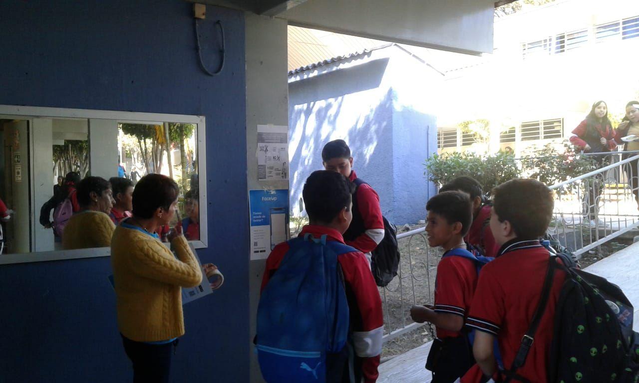 Fotografia Alumnos de escuela secundaria piloto en Morelia
