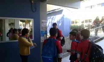 Alumnos de escuela secundaria piloto en Morelia