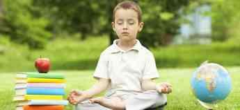 Foto de Medita en casa con niños