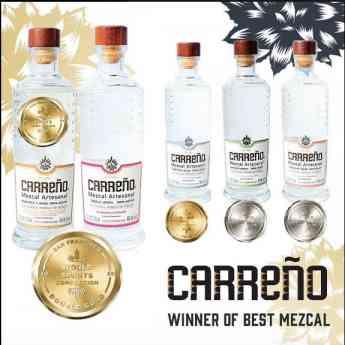 Mezcal Carreño gana los mejores premios en la competencia mundial de